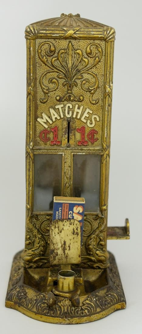 Coin Operated Match Dispenser