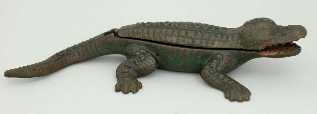 Alligator Match Safe and Strike