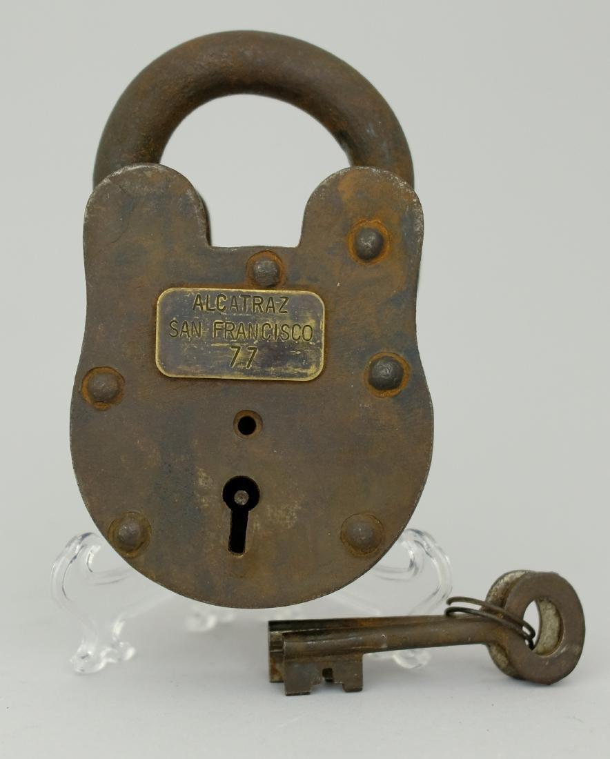 Alcatraz Cell Block Lock #77
