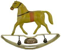 Rocking Horse Bell Toy