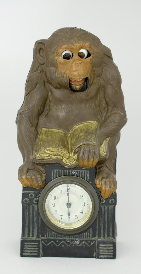Monkey Blinking Eye Clock