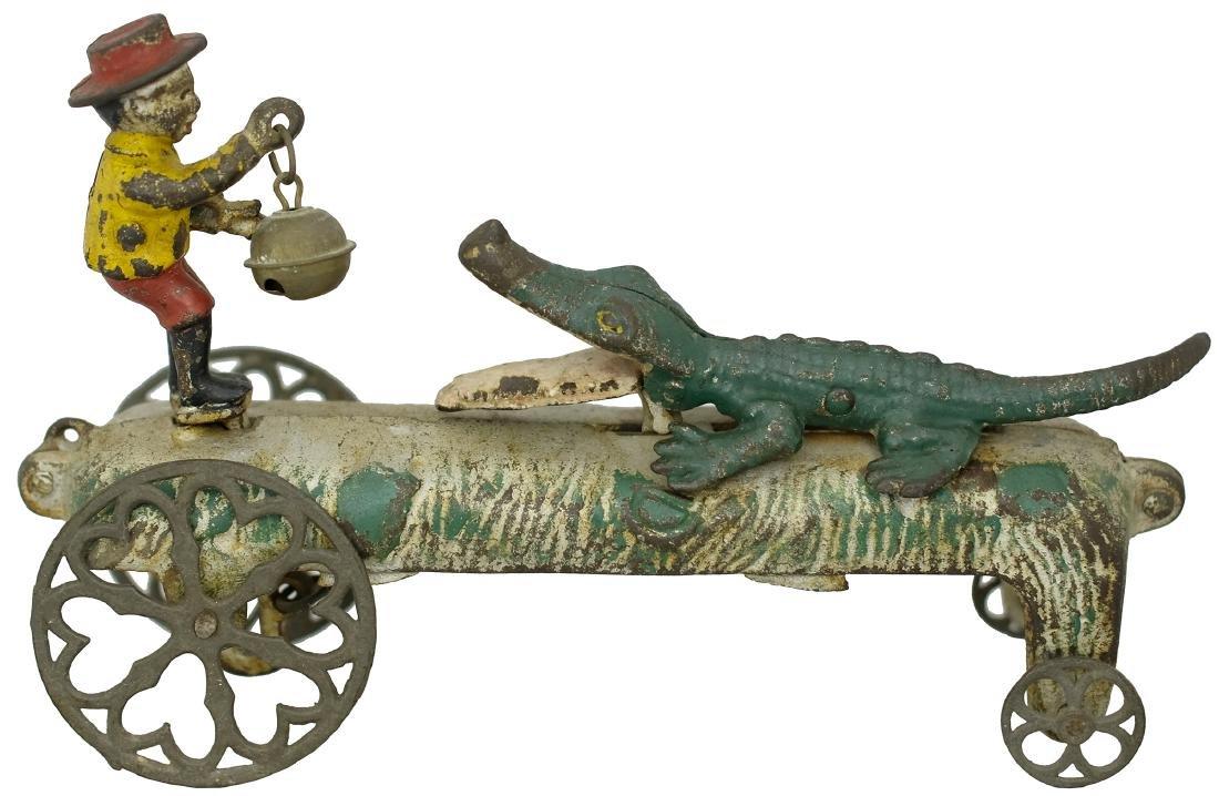 """""""Gator Baiter"""" Bell Toy"""