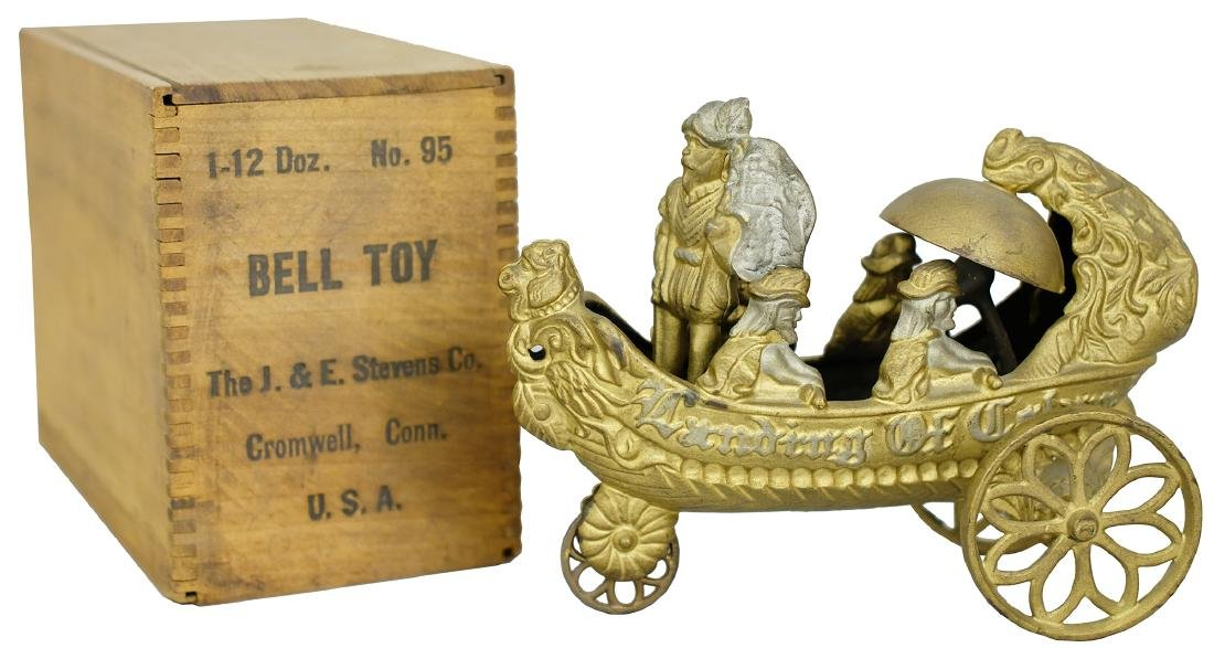 Columbus Bell Toy with Box