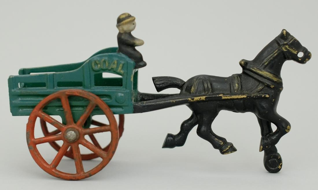 Coal Wagon - Painted Pattern