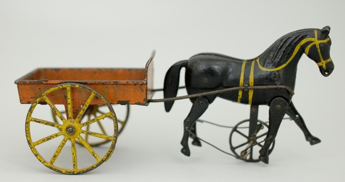 """Victory"" Articulated Horse Cart"