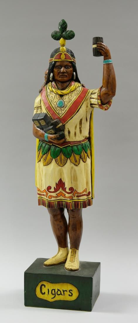 Countertop Cigar Store Indian