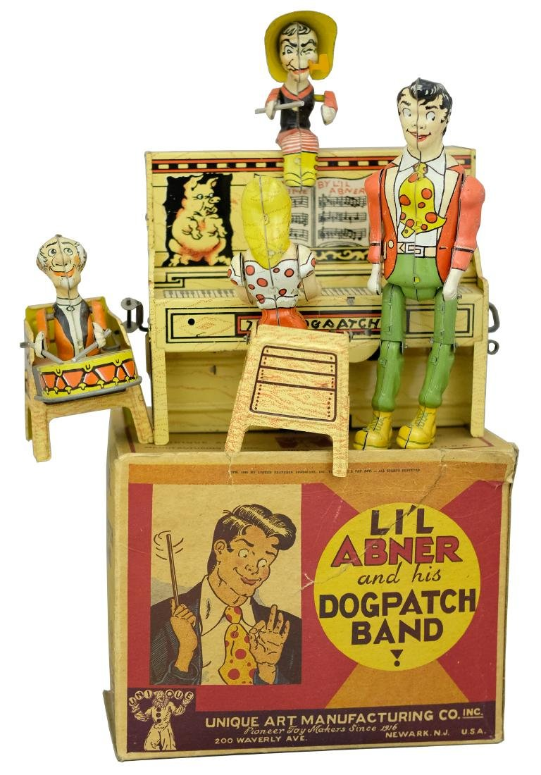 Li'l Abner's Dog Patch Band with Box