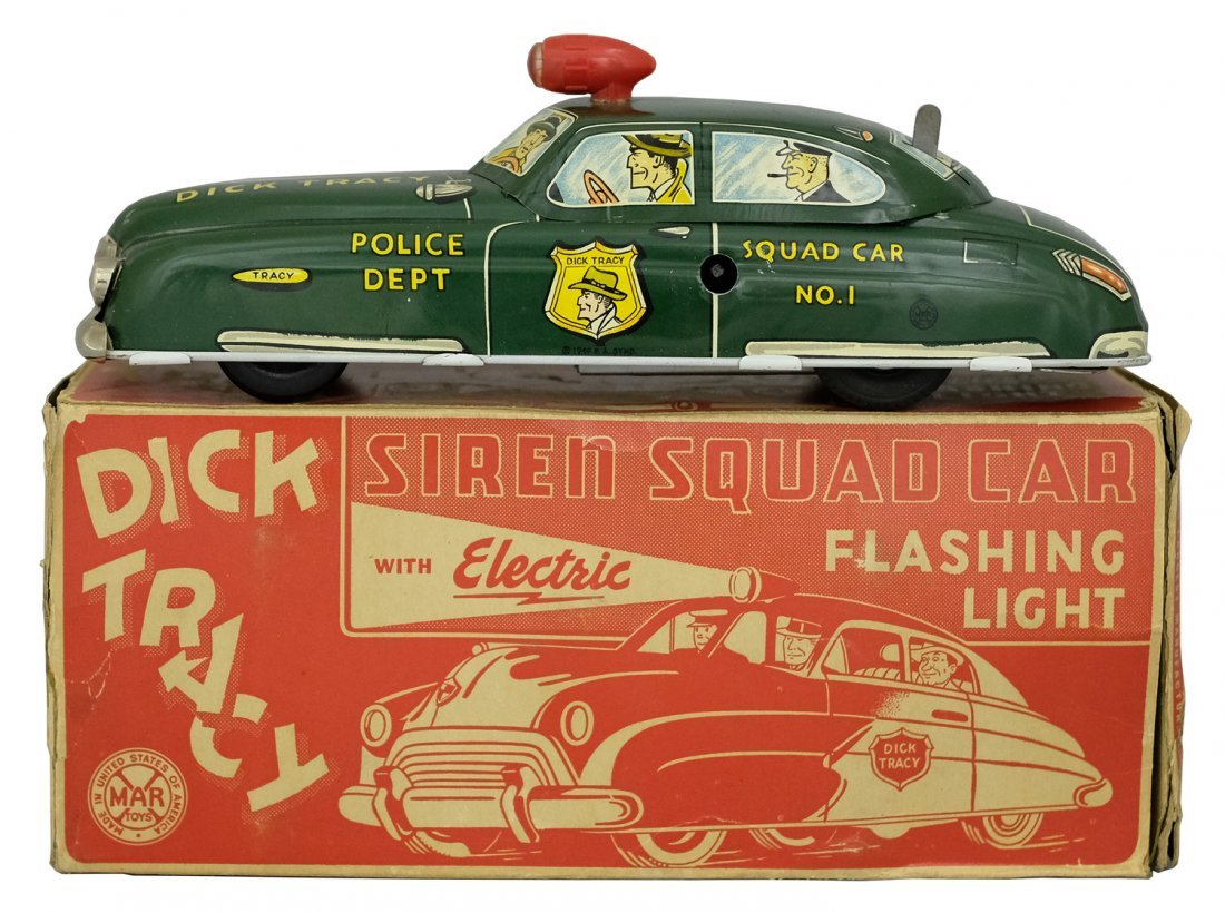 Dick Tracy's Squad Car #1