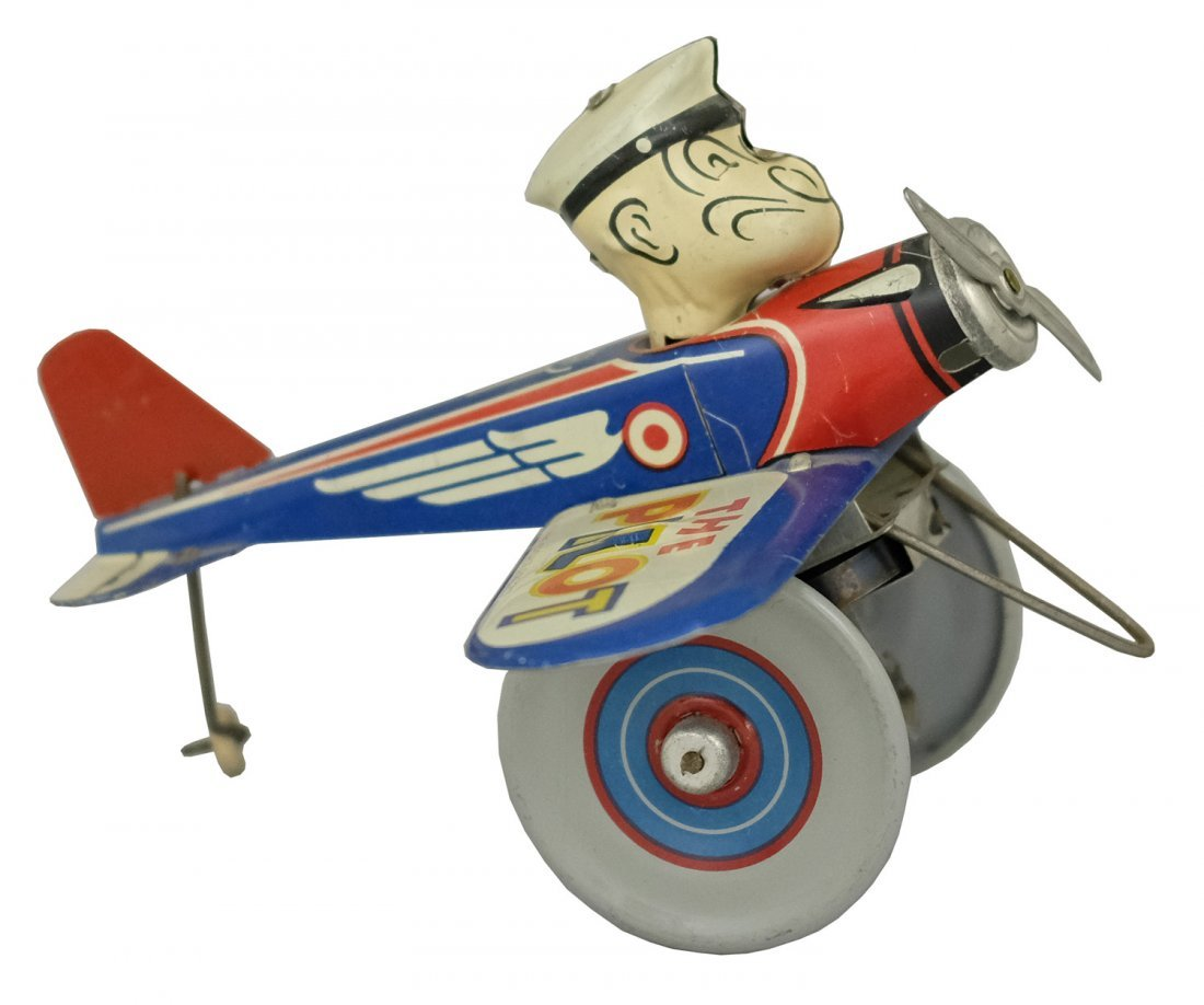 Popeye Eccentric Airplane