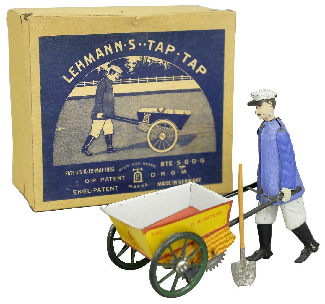 """TAP - TAP"" (EPL # 560) Gardener with Wheelbarrow"