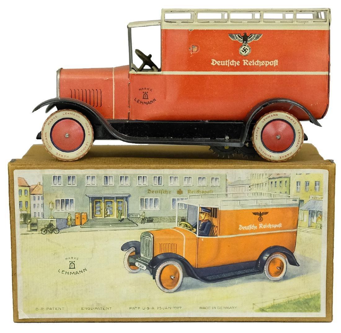 """""""Deutsche Reichspost"""" (EPL # 786) Rare Postal Truck"""