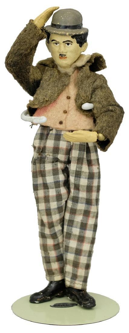 Rare Charlie Chaplin Articulated Doll