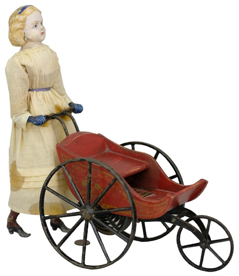 Goodwin Patent Walking Doll