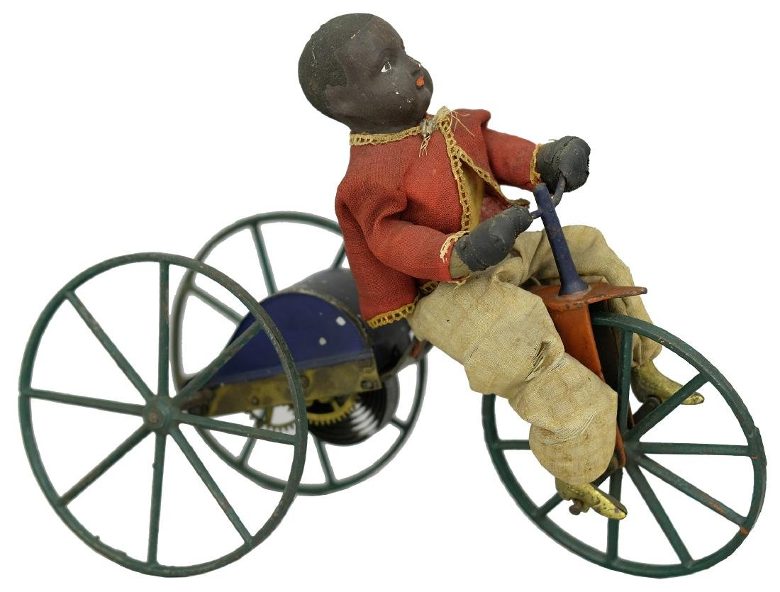 African-American Tricycle Rider Very Rare Variation