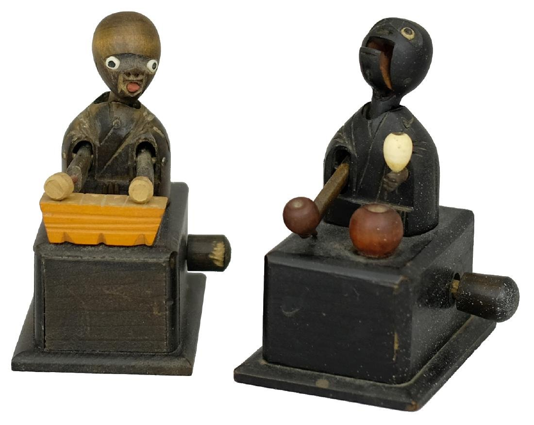 Xylophone Player and an Apple Seller