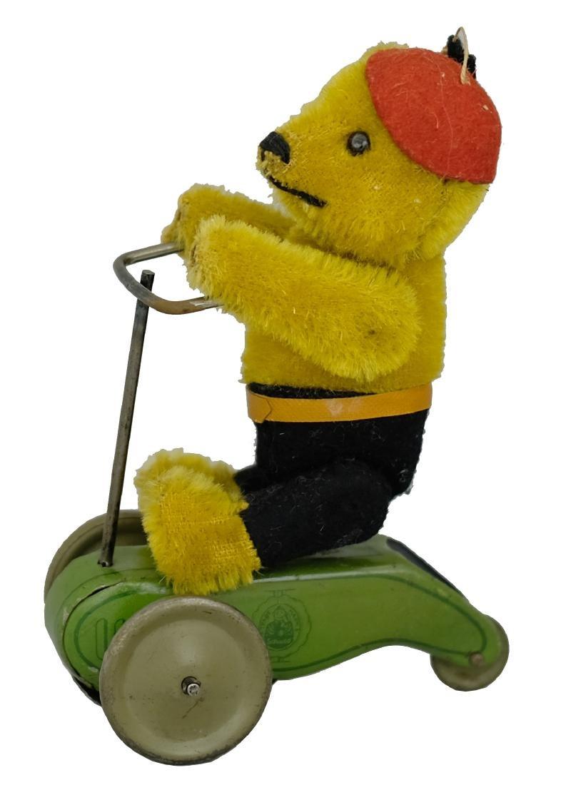 Teddy Bear on Scooter