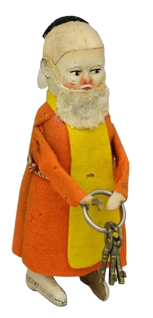 Bearded Friar with Keys