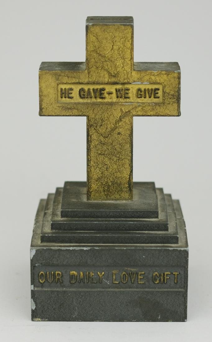 """He Gave - We Give"" Cross"