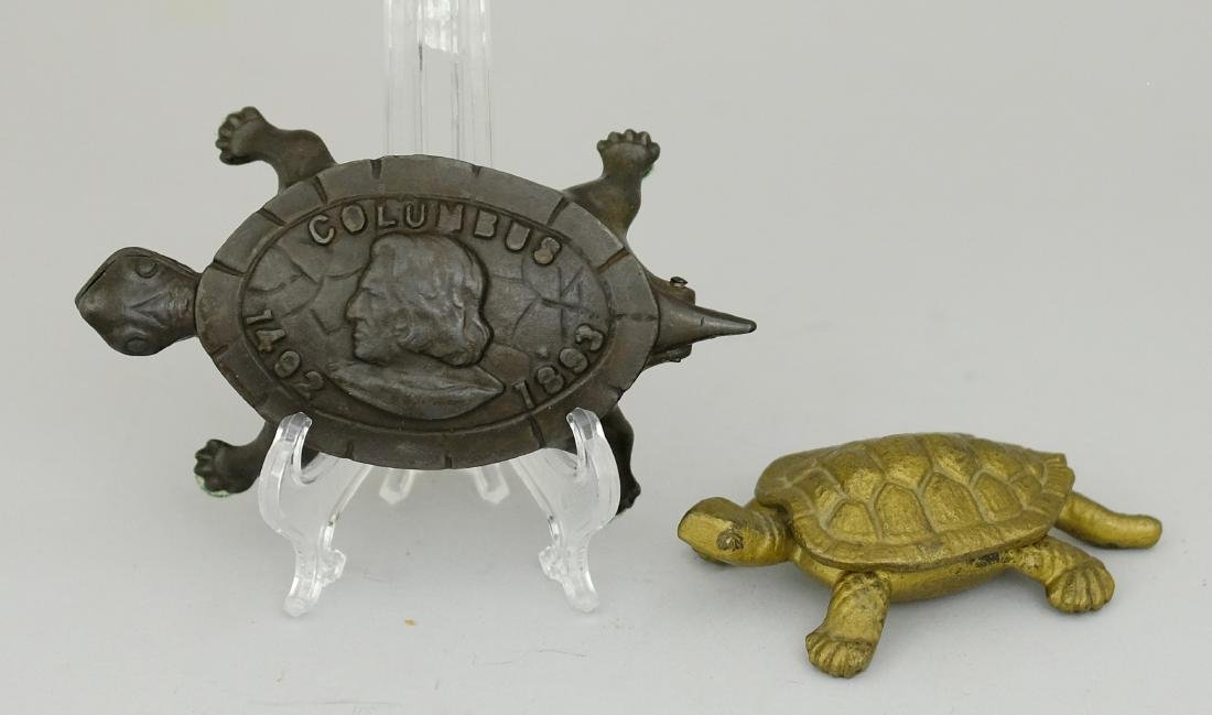 Two Turtle Matchsafes