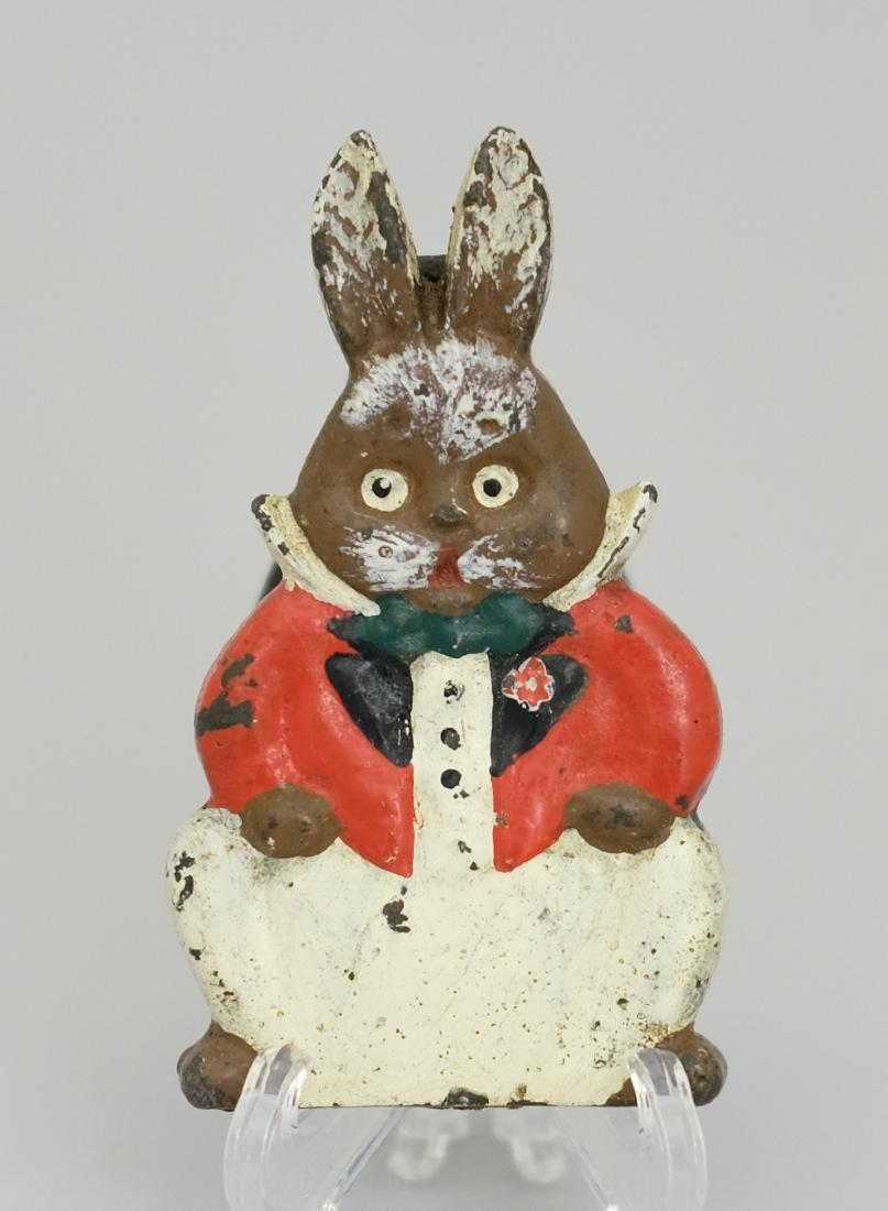 Grandpa Rabbit Door Knocker