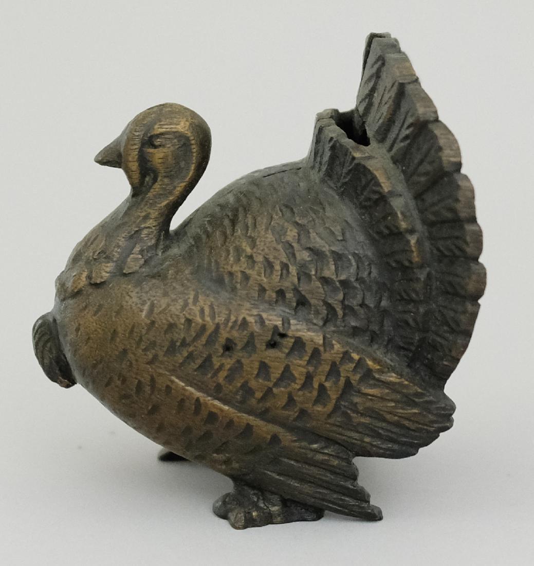 Small Turkey Wood Pattern