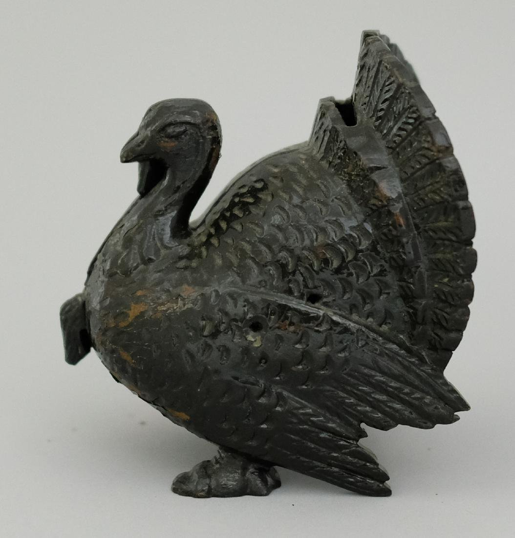 Large Turkey Wood Pattern