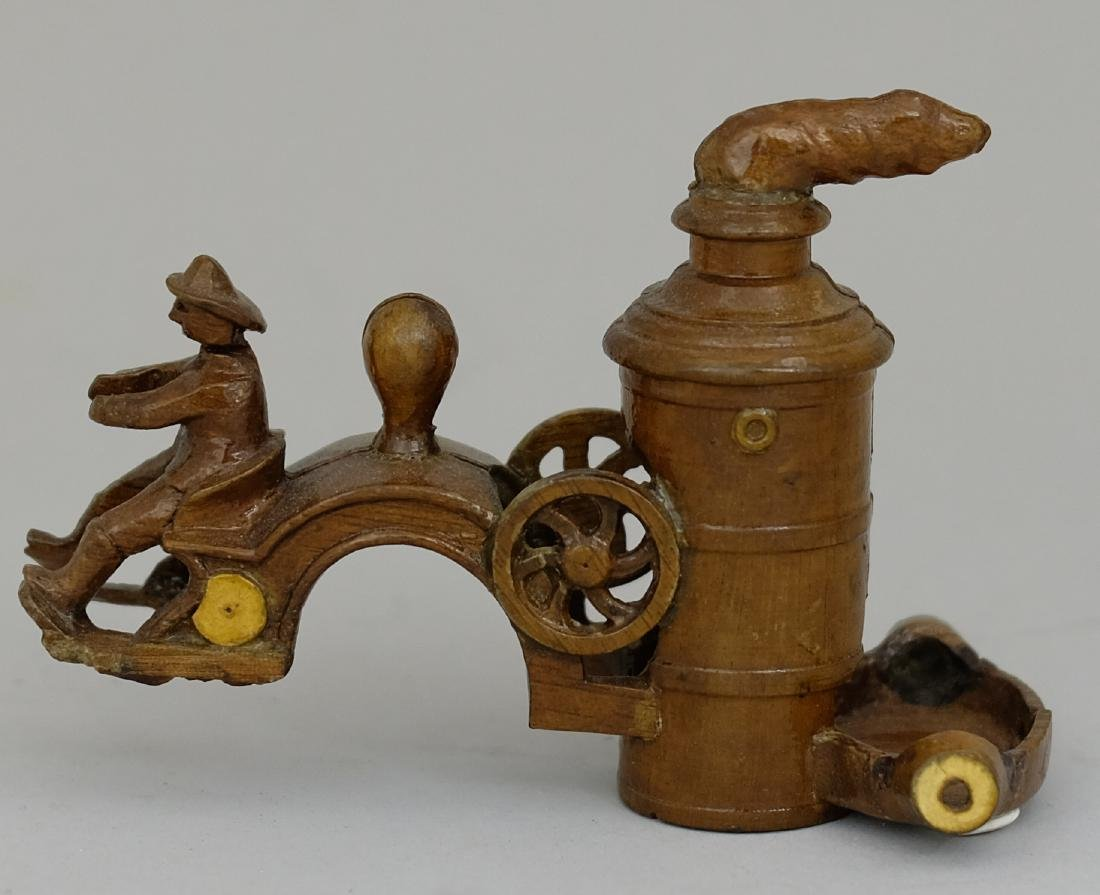 Fire Pumper Wood Pattern