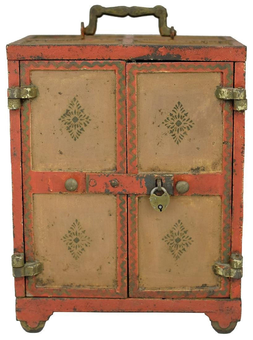 Large Painted Safe