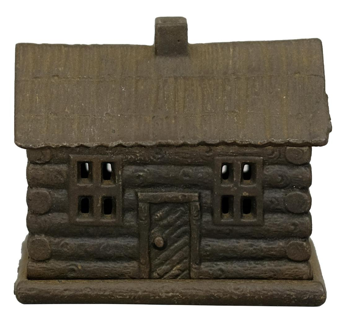 Log Cabin with Shake Roof