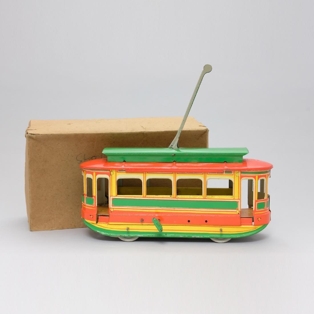Strabenbabn Trolley with Box