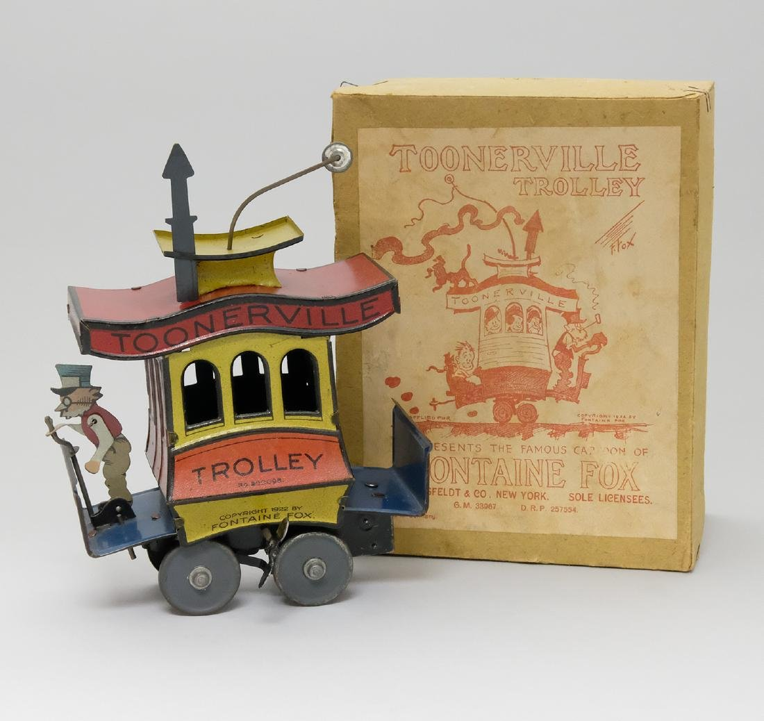 Toonerville Trolley with Box