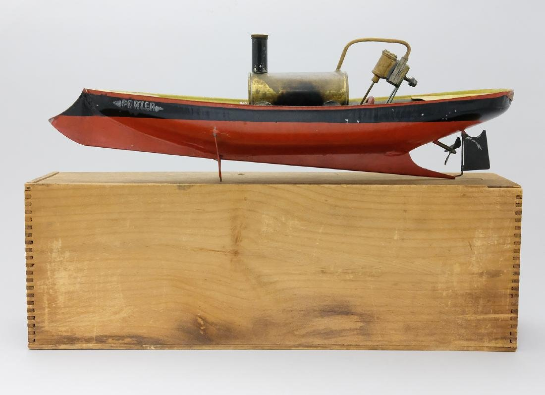Steam Powered Yacht with Original Box
