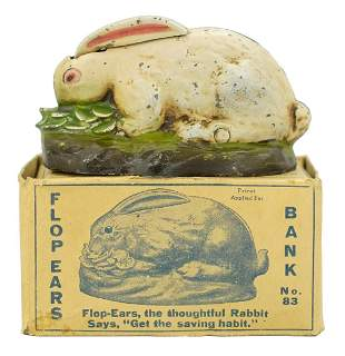 Rabbit in Cabbage. With Original Box Marketed