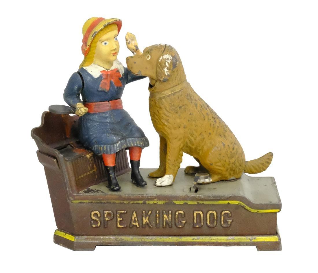 Speaking Dog Bank - Blue Dress