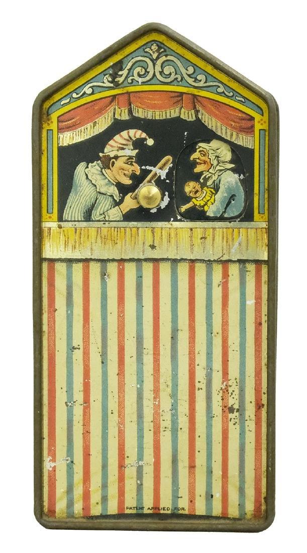 Rare Tin Punch and Judy