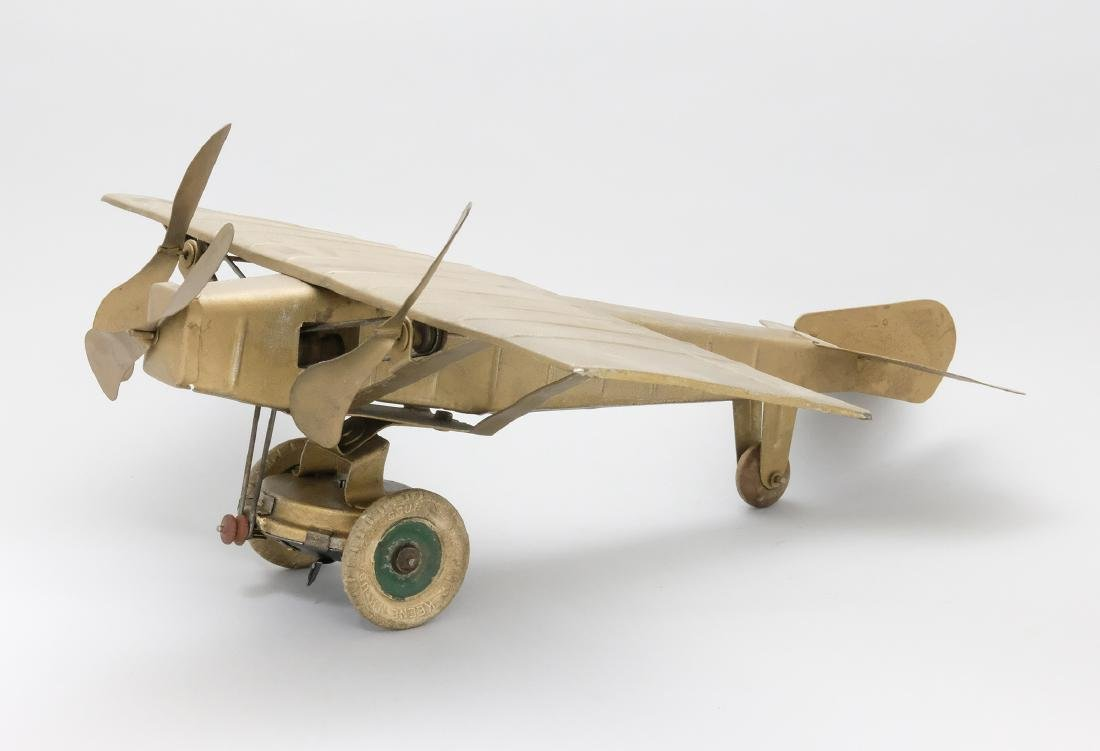 Trimotor Airplane