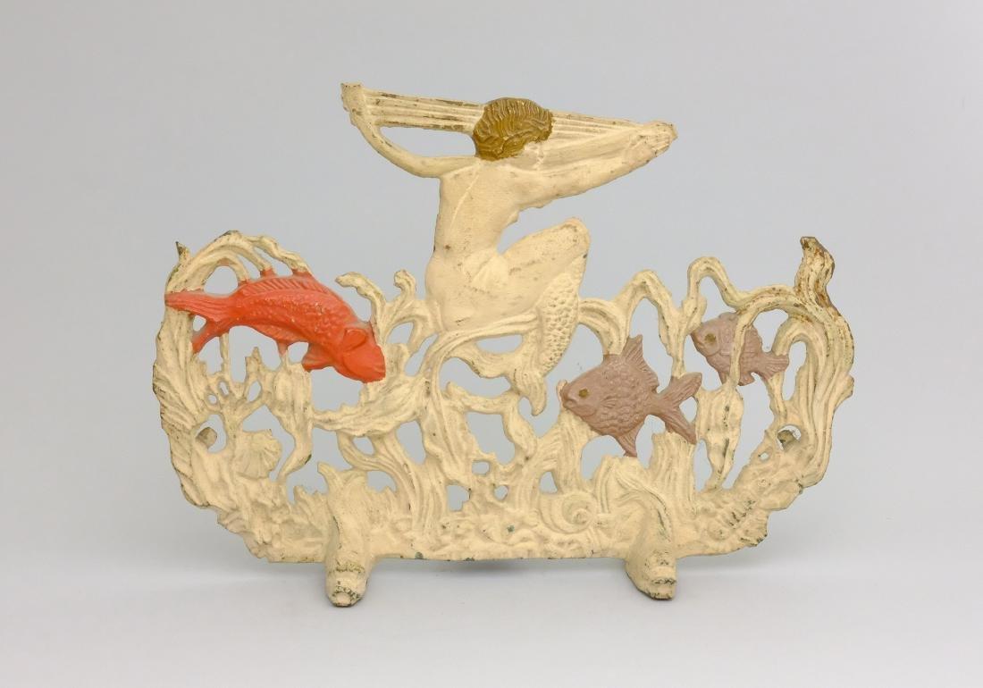 Mermaid Figural Iron