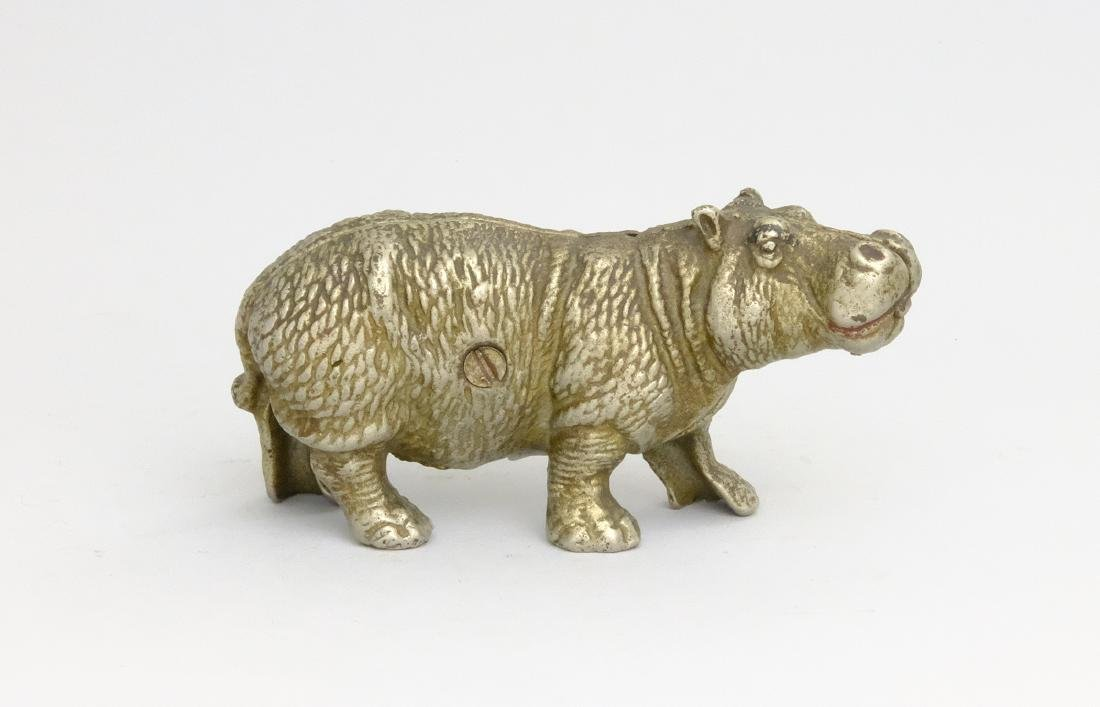Hippo - Nickel Plated