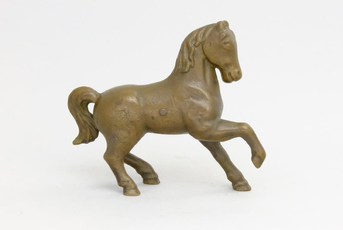 Prancing Horse Brass Pattern