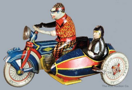 239: INGAP MOTORCYCLE AND SIDECAR