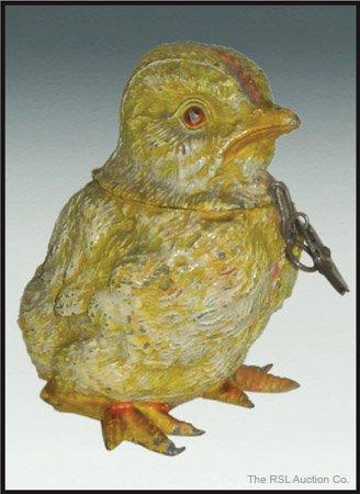 4: GERMAN SPELTER BANK Baby Chick