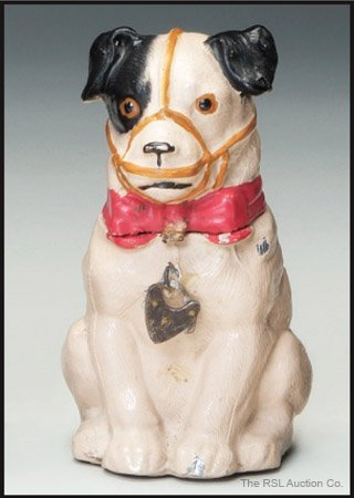 8: GERMAN SPELTER BANK Dog with Muzzle