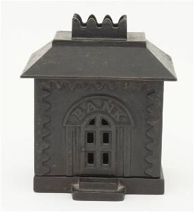 Medium Crown Iron Still Bank