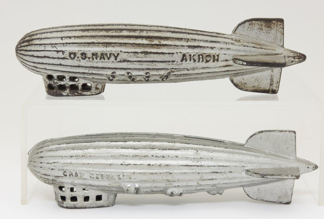 U. S. Navy and Graf Zeppelin Iron Banks