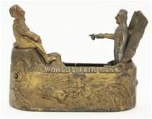 World's Fair Iron Mechanical Bank