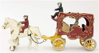 Overland Circus Calliope Iron Toy