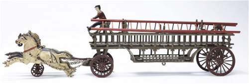 Hook & Ladder Iron Toy