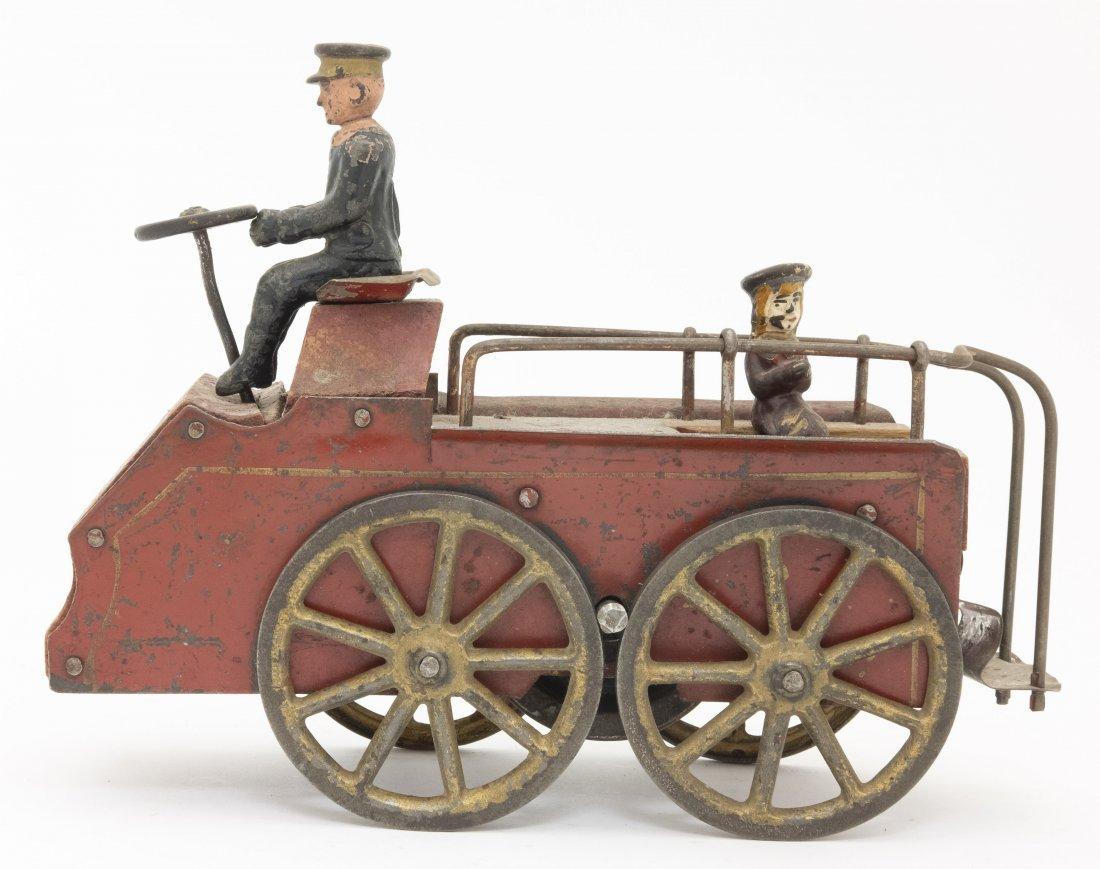 Friction Patrol Wagon