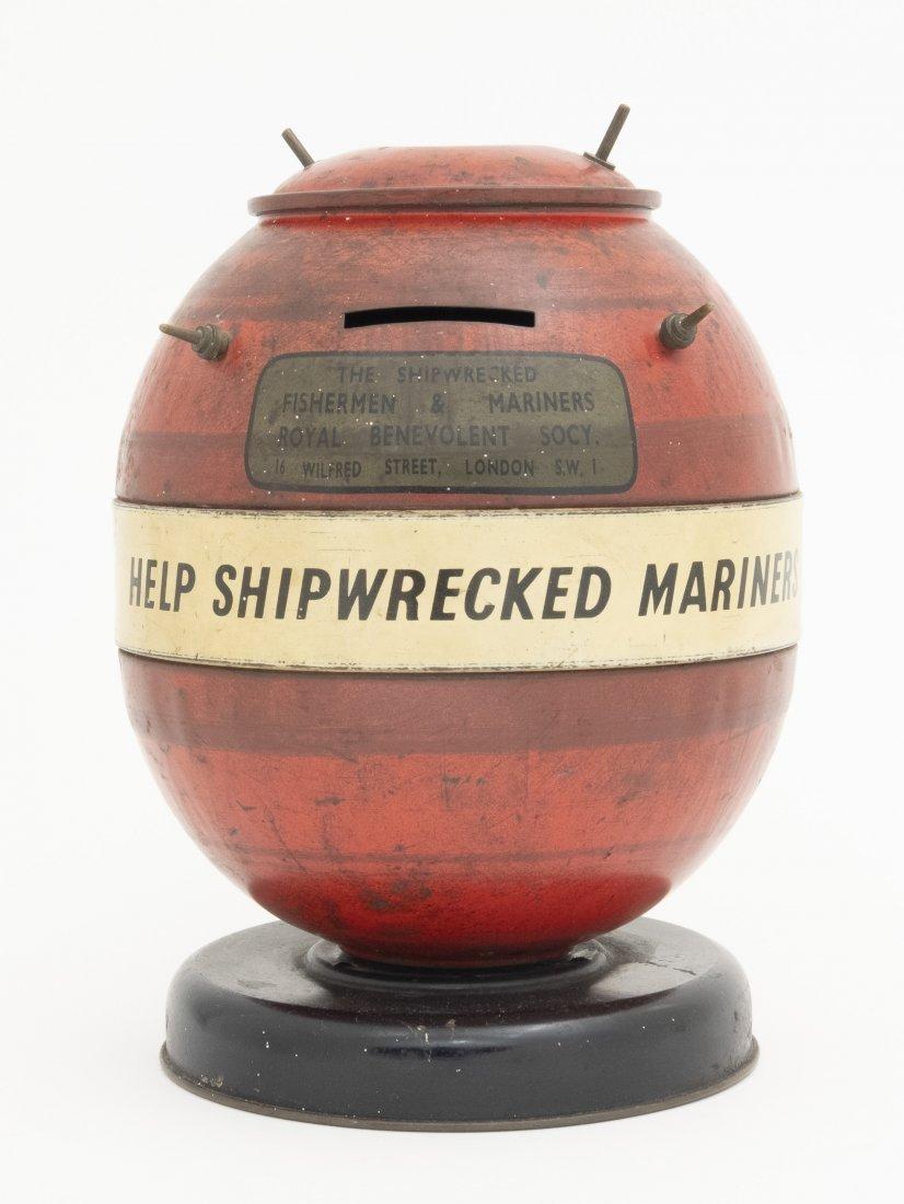 Ocean Mine for Shipwrecked Sailors Tin Bank