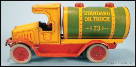 4: F. STRAUSS WIND-UP STANDARD OIL TRUCK